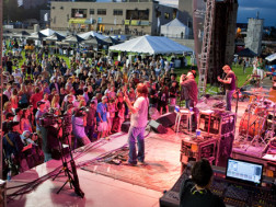 Blues Traveler Band performs at Infinity Park
